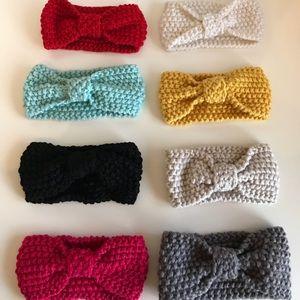 Brand New Set of 8 Baby Toddler Girl Bow Headbands
